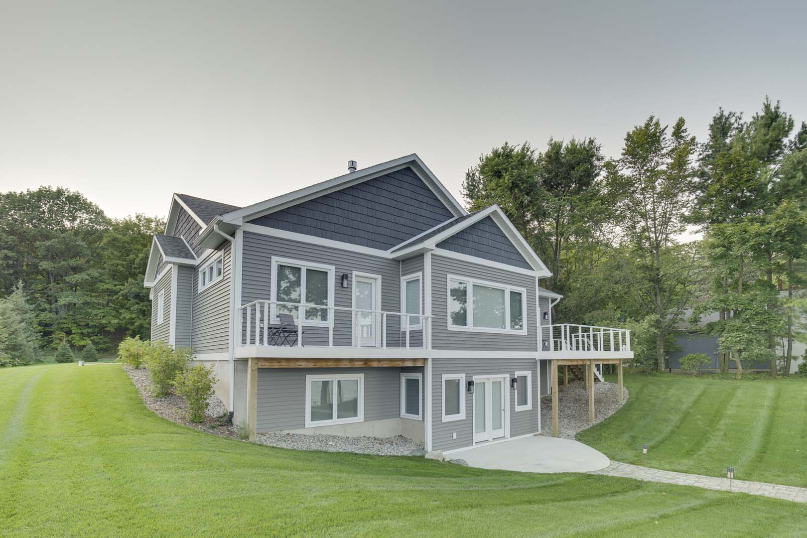 One of our custom homes in Traverse City, MI
