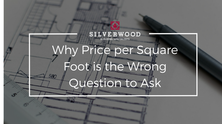 Price Per Square Foot To Build A Home Silverwood